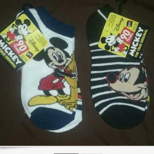 Disney Mickey Mouse Boys Unisex Kids Socks
